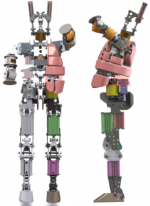 今回開発した基本骨格部分