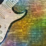 「ロックの殿堂」とコラボ企画 ギターデザインのレコードジャケット1,000枚展示 金沢工業大学
