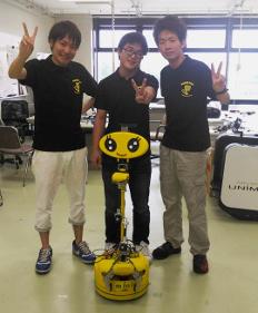 人工知能搭載の生活支援ロボット世界大会に出場 金沢工業大学