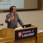 アデランスが英レスター大学で学生対象に特別講義